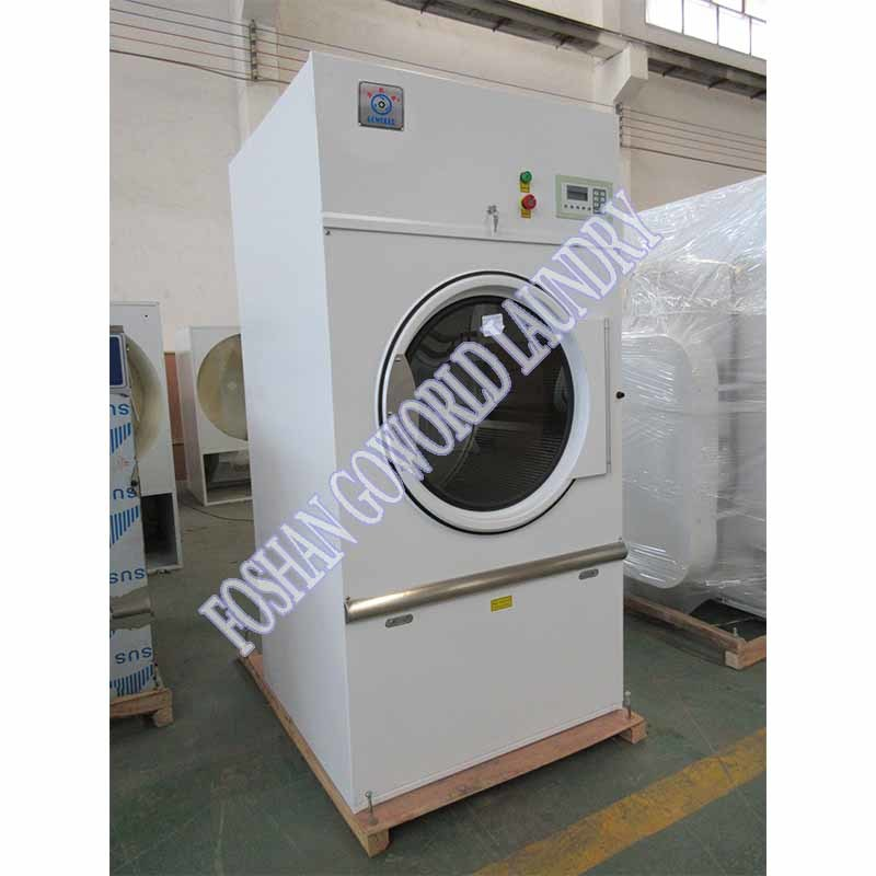 25kg gas heating laundry shop clothes dryer,industrial drying machine