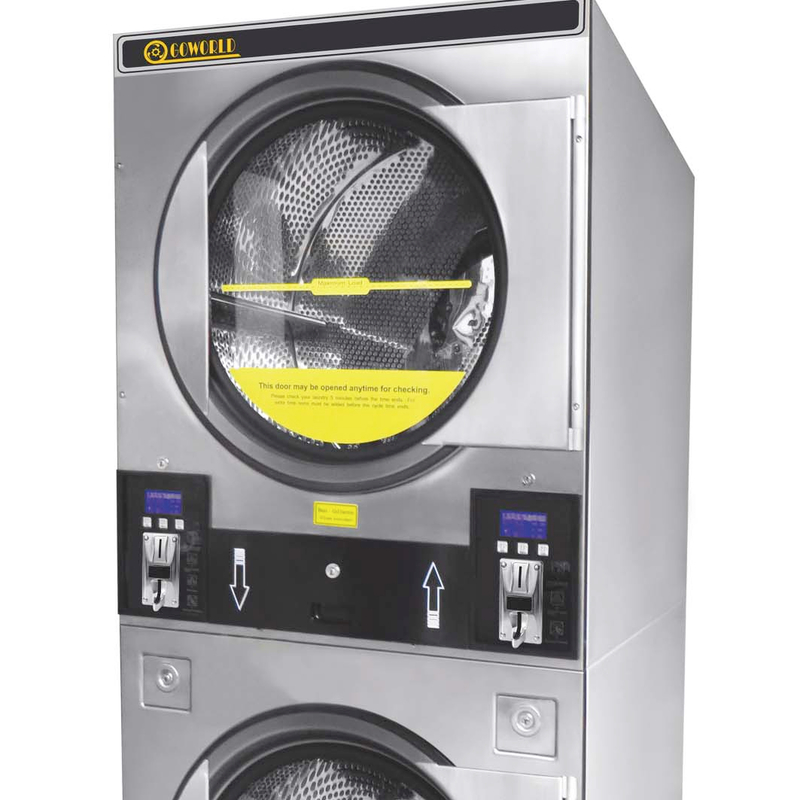 2*12kg gas heating commercial laundry dryer,tumble drying machine
