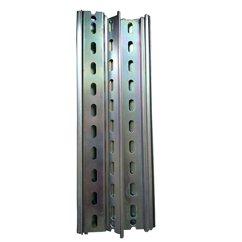 rail metal fabrication with bending, hole punching