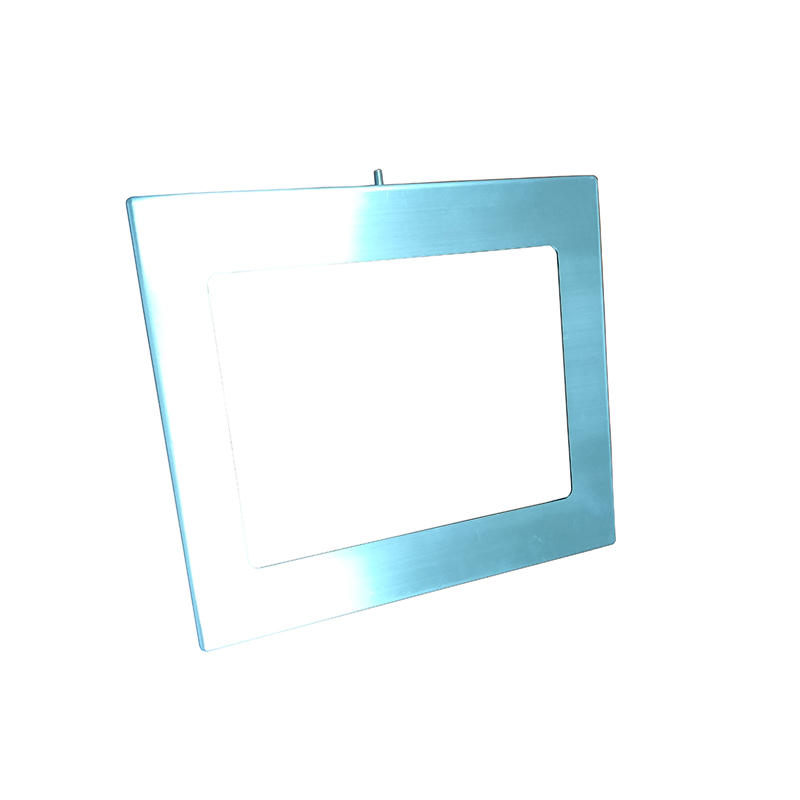 sheet metal fabrication with solid drilling brushed surface