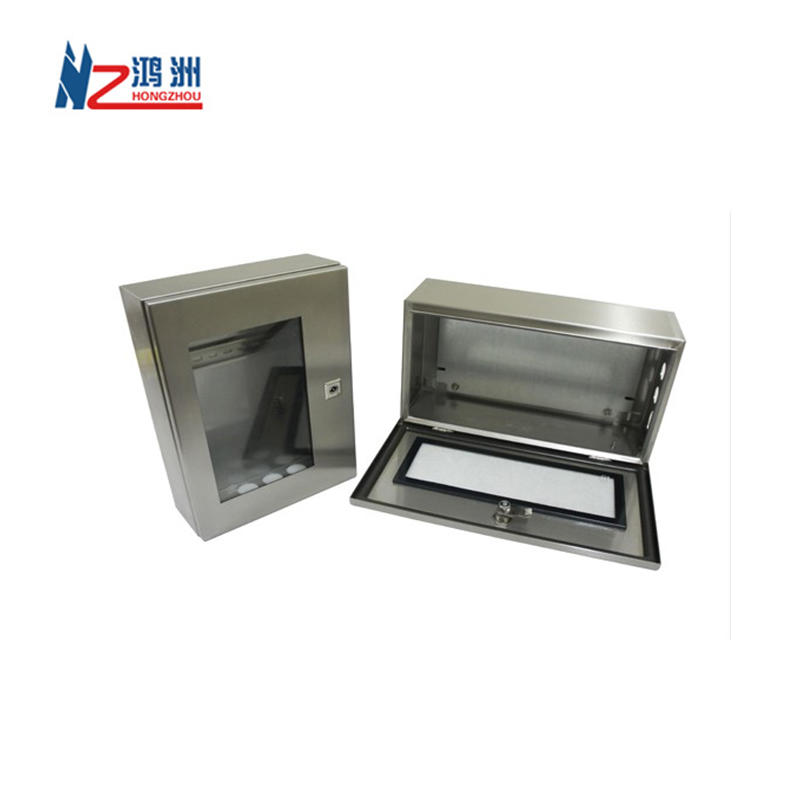 OEM Factory Powder Coated Electrical Metal Sheet Enclosure with Silkscreen