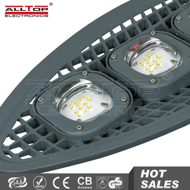 Outdoor waterproof ip65 high lumen cob led 150w street light