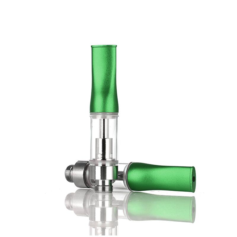 Refillable Brass Tip Gold color 510 thread quartz not ceramic cbd cartridge 1.0ml 0.5ml vape pen bulk order for vape pen