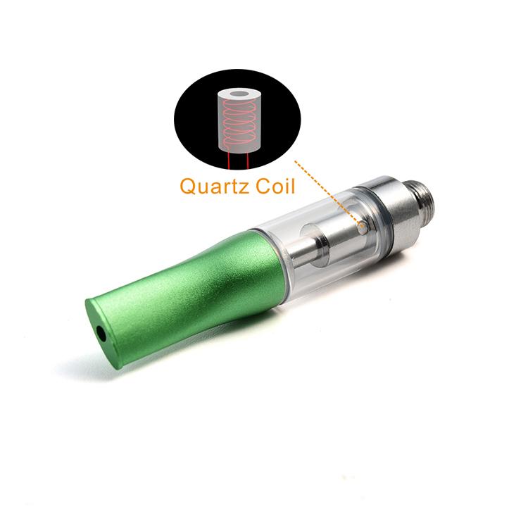 Quartz Coil .5 ml 1 ml 510 threadsilver gold thick oil cartridge for vape pen