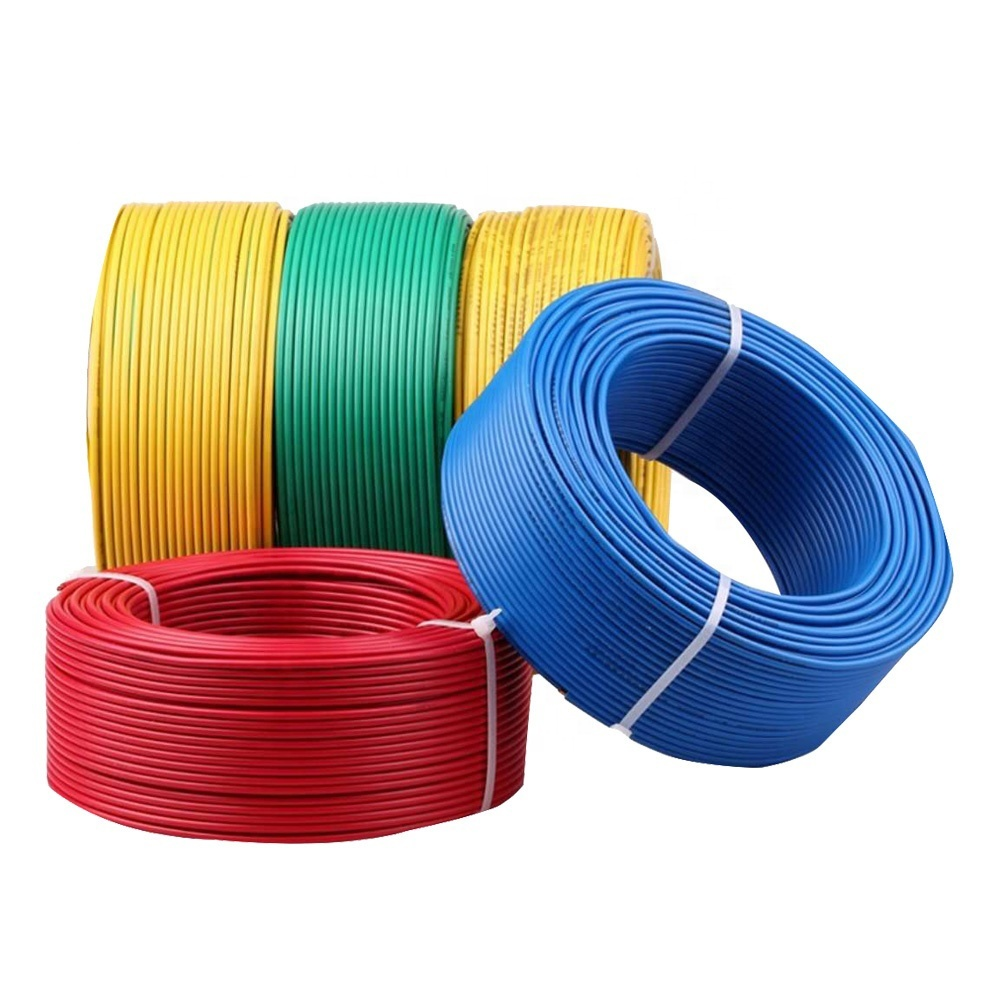 1.5mm2 2.5mm 4 sq mm pvc electric wire and cable