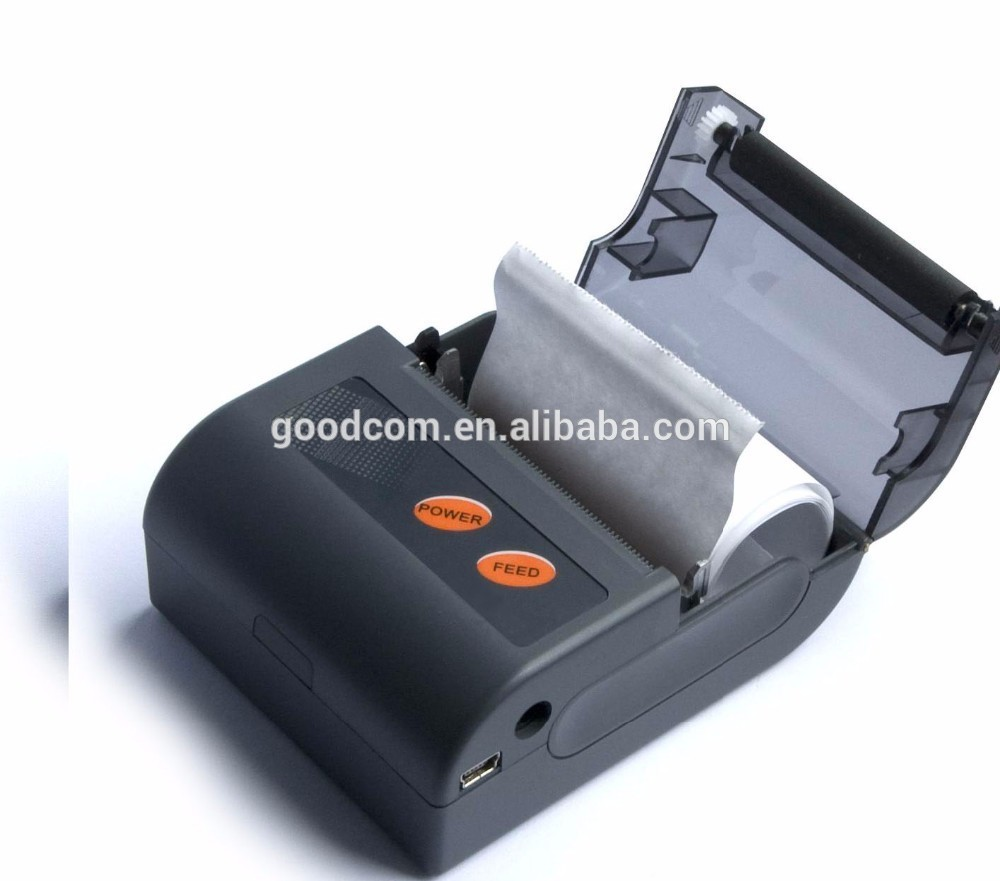 Handheld 58mm Mobile Bluetooth Thermal Receipt Printer For Android And IOS Device