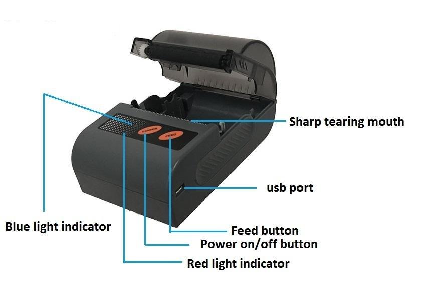 Cheap Bluetooth Mobile Printer