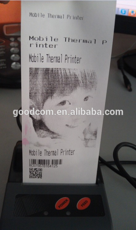 Mini Android Bluetooth Thermal Printer for Android Tablet with SDK