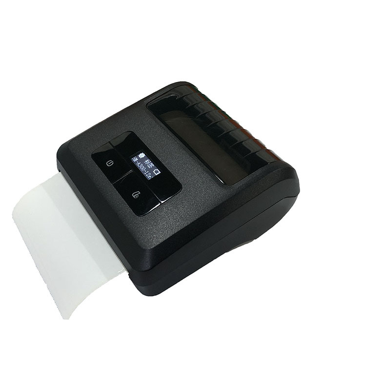 Factory 80mm Mini Small Portable Bluetooth Printer Thermal Receipt Barcode Label Sticker Printer