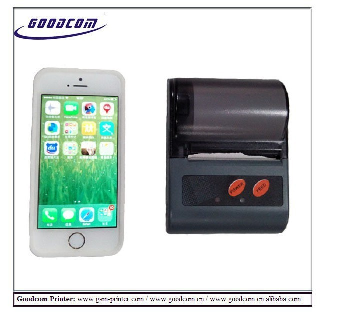 Android iOS System Available Mini Bluetooth Printer with 58mm Paper Size