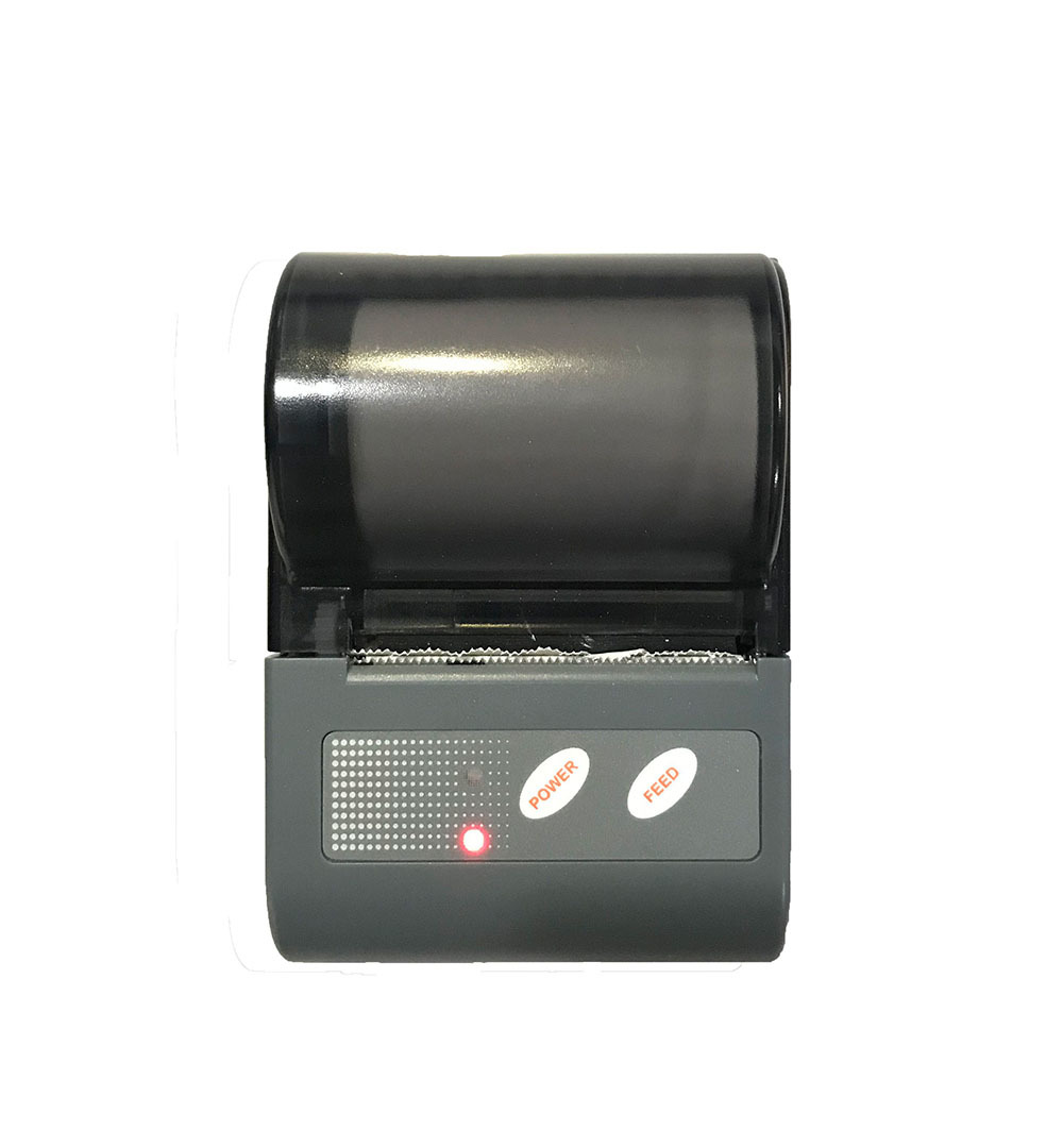 Small Wireless Mobile QR Code Label Printing Terminal Mini Portable Handheld Thermal Bluetooth Printer for Mobile Phone