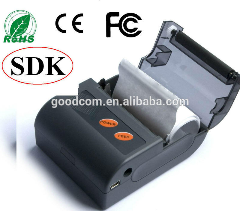 58mm Mini Android Bluetooth Printer Prints PDF File