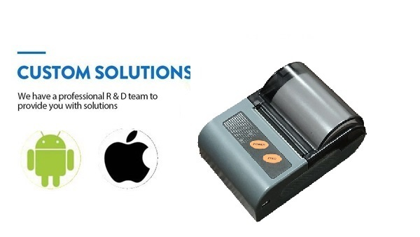 Compatible with Android and IOS System Mini Bluetooth Thermal Printer
