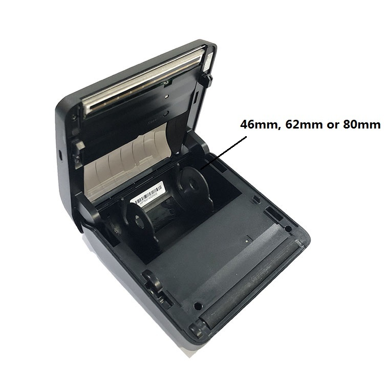 Factory 80mm Mini Small Portable Bluetooth Printer Thermal Receipt Barcode Label Sticker Printer