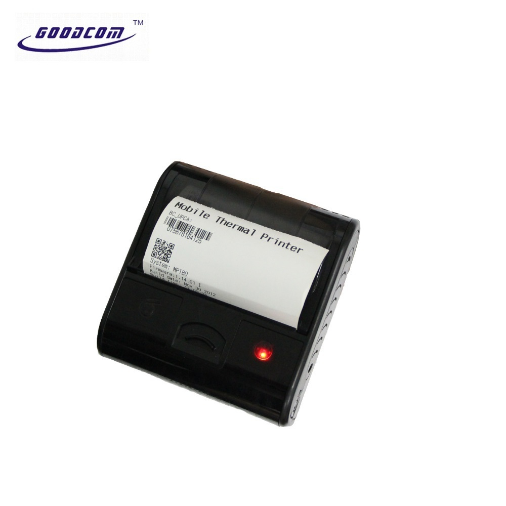 Portable bluetooth wireless 80mm thermal receipt printer for android smartphone tablet