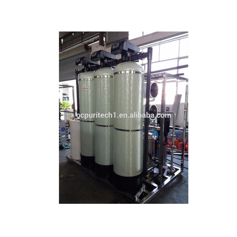 Canton Fair 2TPH RO and DI module Water Treatment Machine