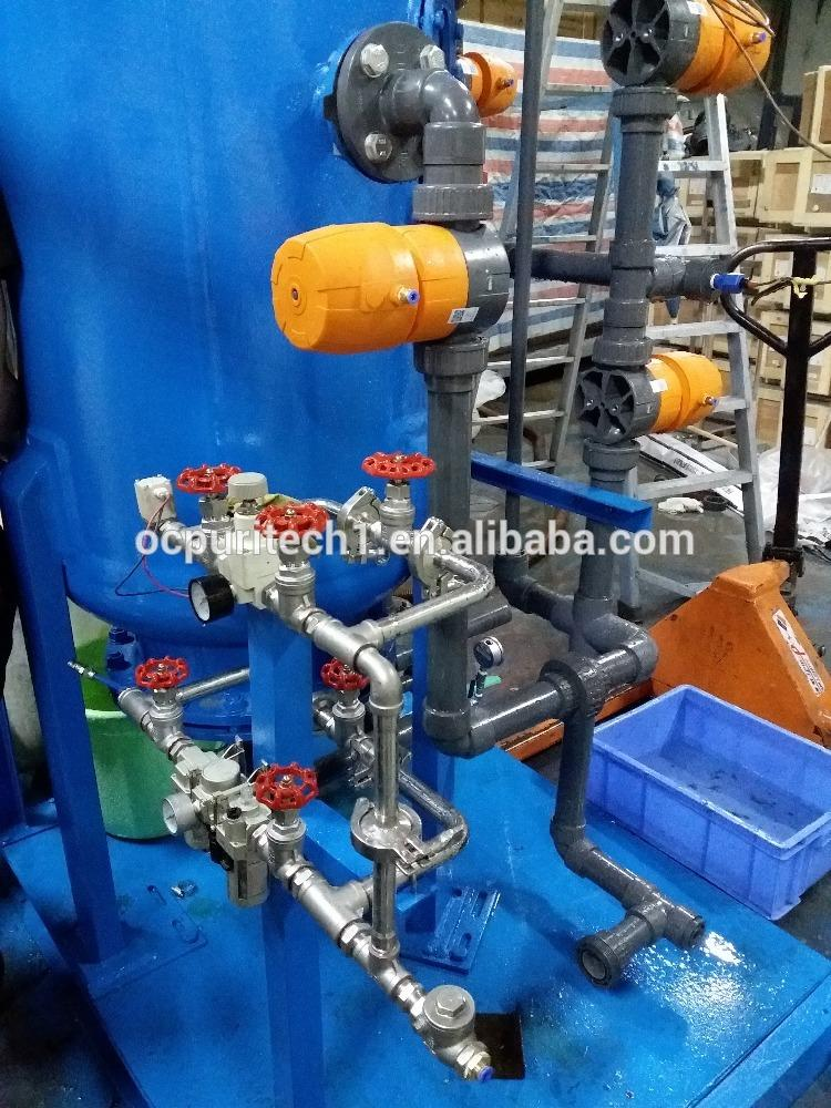 6000LPH zero water deionized ultra-pure water mixed bed plant