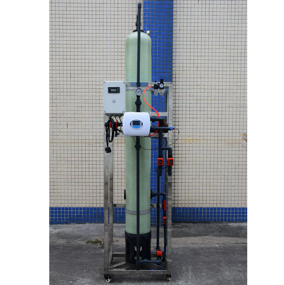 industrial water treatment mixed bed deionizer ion exchanger exchange system machine