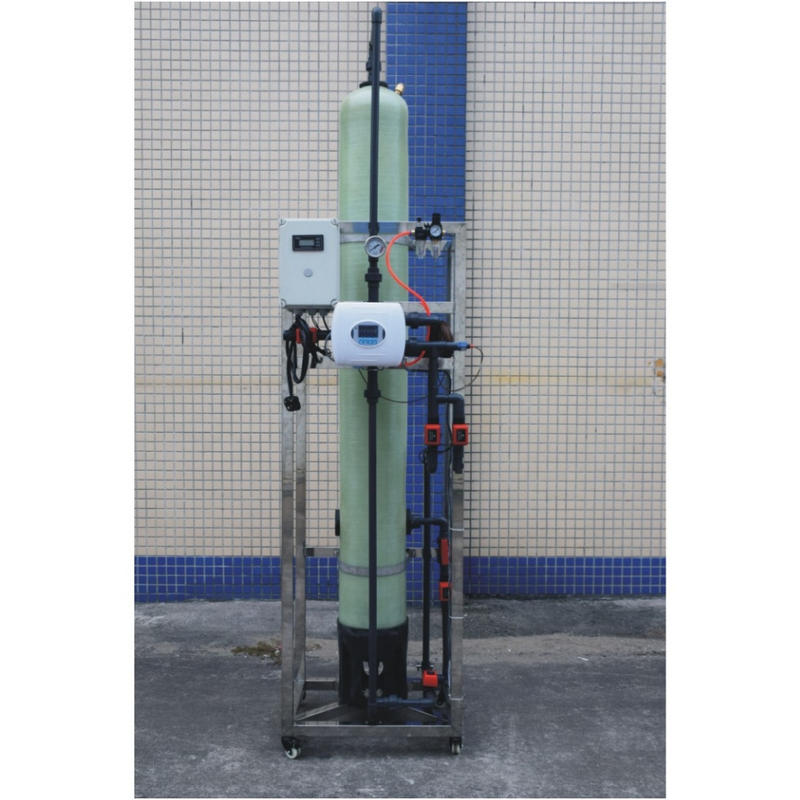 1000LPH Deionized Water Machine Cation and Anion Resin Exchanger Deminerized