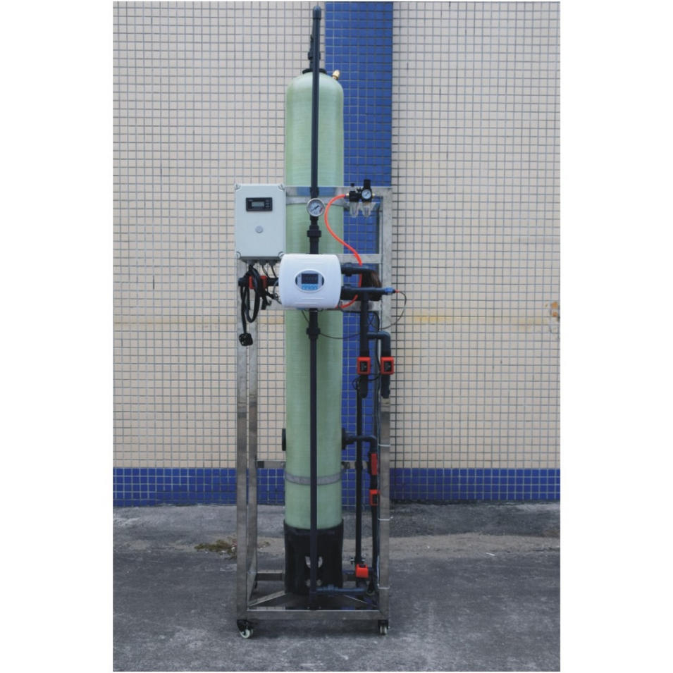 1M3/hr Ion Exchange Column Mixed Bed Used in Electronics and printing Industry