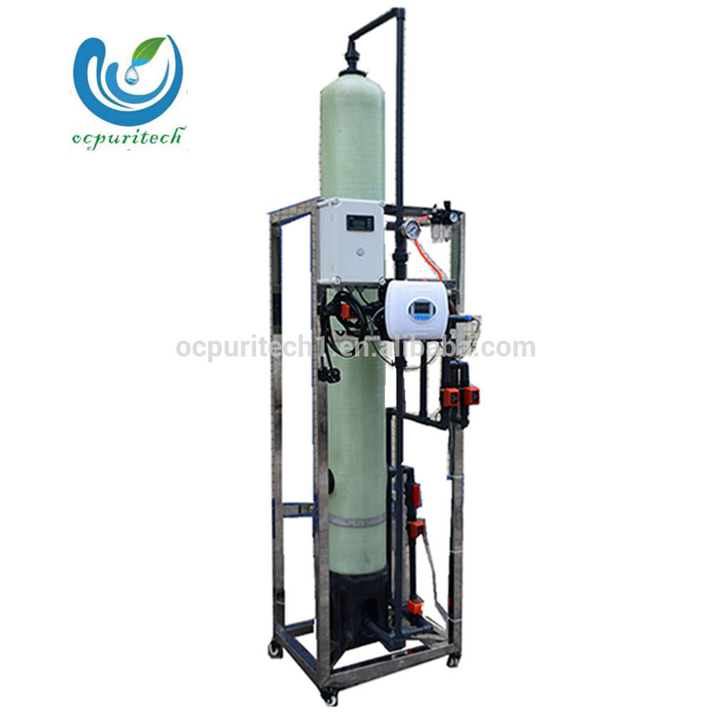 1000LPH Guangzhou Ultra-pure water ion exchange equipment with Stainless steel frame