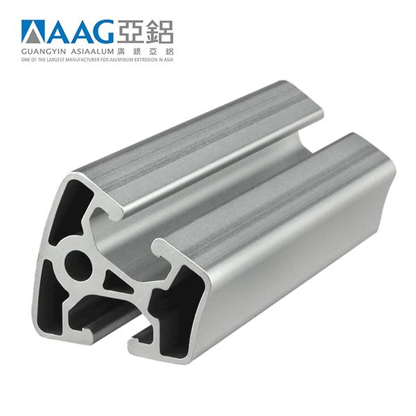 Custom 45x45T slot aluminum industrial profile manufacturer