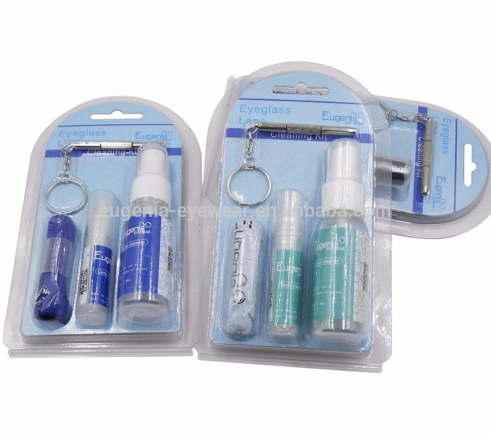 EUGENIA Wholesale Liquid Lens Spray Anti Fog Eyeglass Cleaner Repair Kit