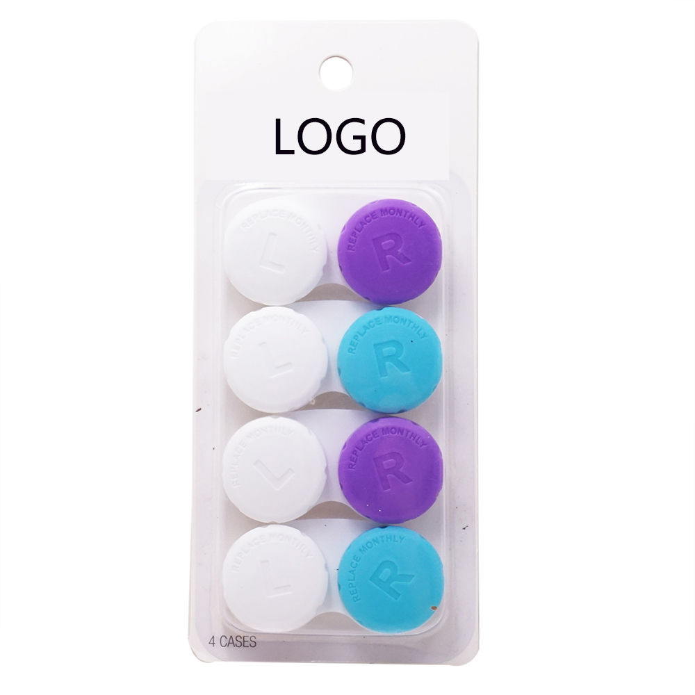 Wholesales Travel package Monthly Changed Contact Lens Case