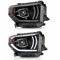 VLAND manufacturer for Tundra 2014 2015 2016 2017 2018 2019headlight with FULL LED and moving signal+plug and play