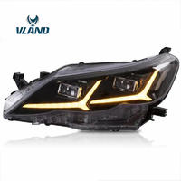 Vland Factory Car Accessories Head Lamp For Reiz Mark X 2010-2013 Full LED Head Light With Sequential Indicator Plug And Play