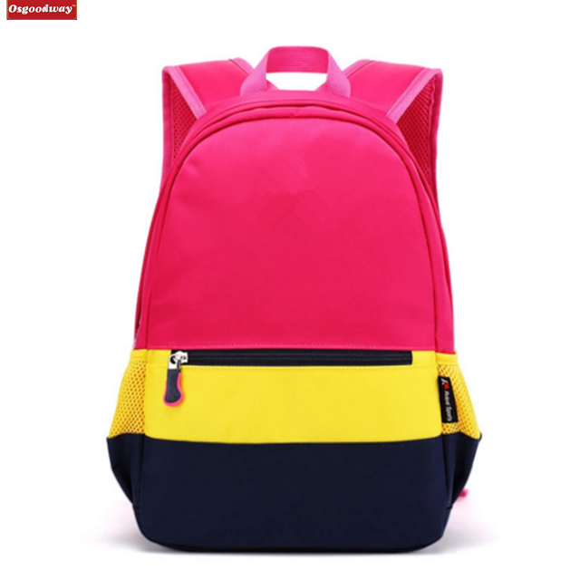 Osgoodway Children Orthopedic School Bags For Girls Boys Backpack In Primary School Backpacks