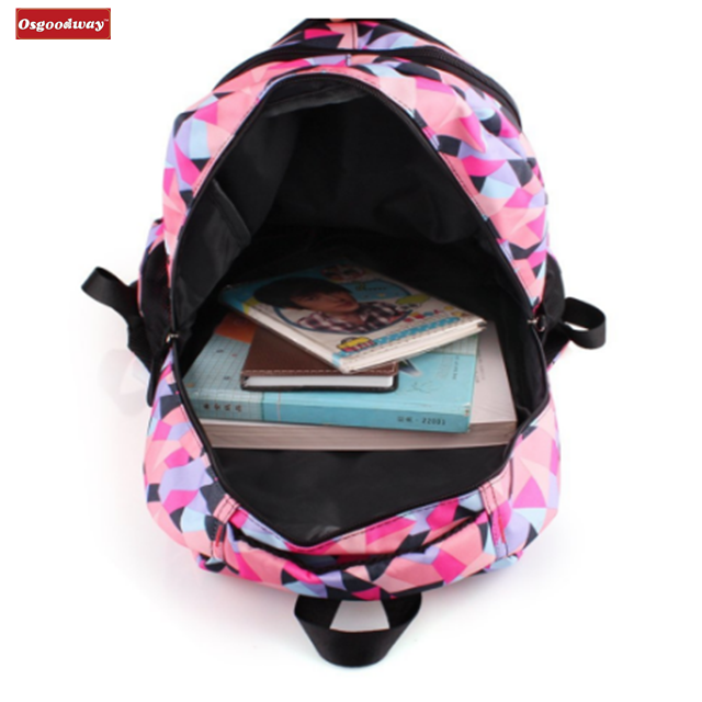 product-Osgoodway-Osgoodway Lovely Trolley School Backpack Bags With Wheels For Kids Girls Primary S