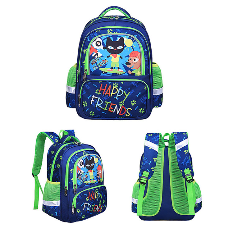 Osgoodway2 Cute 1-6 Grades Ergonomic School Backpack for Kids Bookbags Bagpack Girls