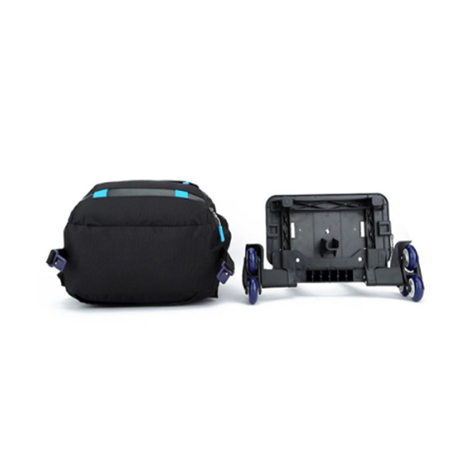 product-Osgoodway Rolling Backpack Luggage Wheeled Backpack Travel Laptop Six Wheels Unisex Trolley -1