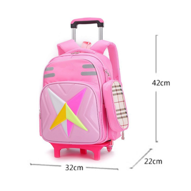 product-Osgoodway-Osgoodway Backpack with Wheels Removable Rolling Backpack School Bag for Boys-img