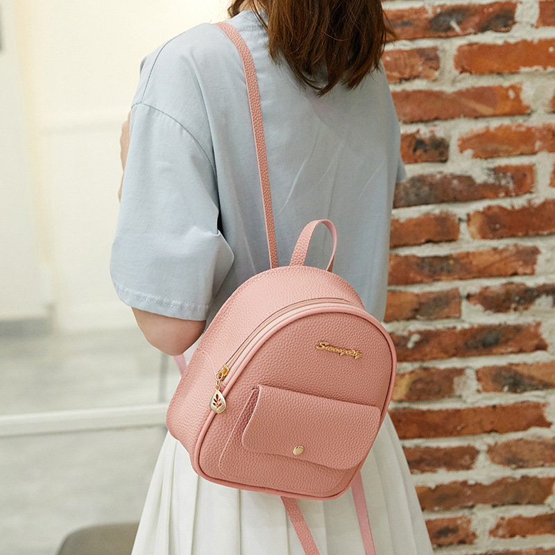 product-Osgoodway2cute letter logo multifunctional pu leather fashion mini backpack for girls-Osgood-1