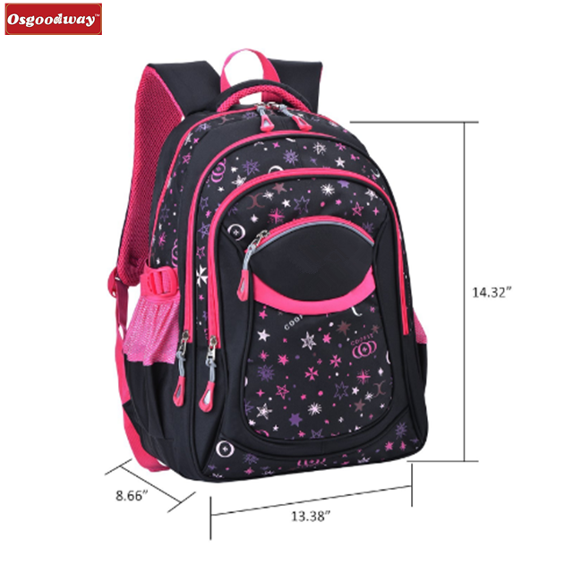product-Osgoodway China wholesale fashion desgin beautiful kids school trolley backpack with detacha-1
