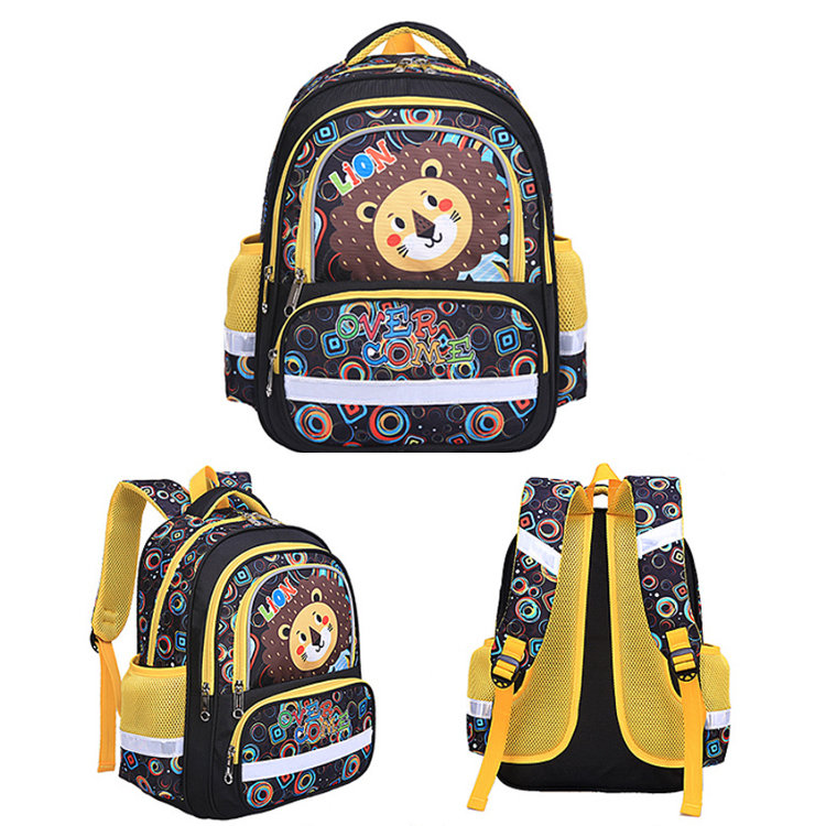 product-Osgoodway BSCI Factory Cartoon School Custom Backpack Multi Pockets Children Bag Kids Backpa-1