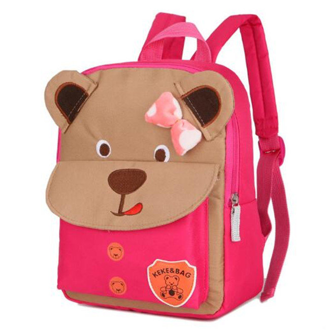 product-Osgoodway New Cute Backpack For Children Orthopedic Childrens Backpacks Bear School Bag Cart-1