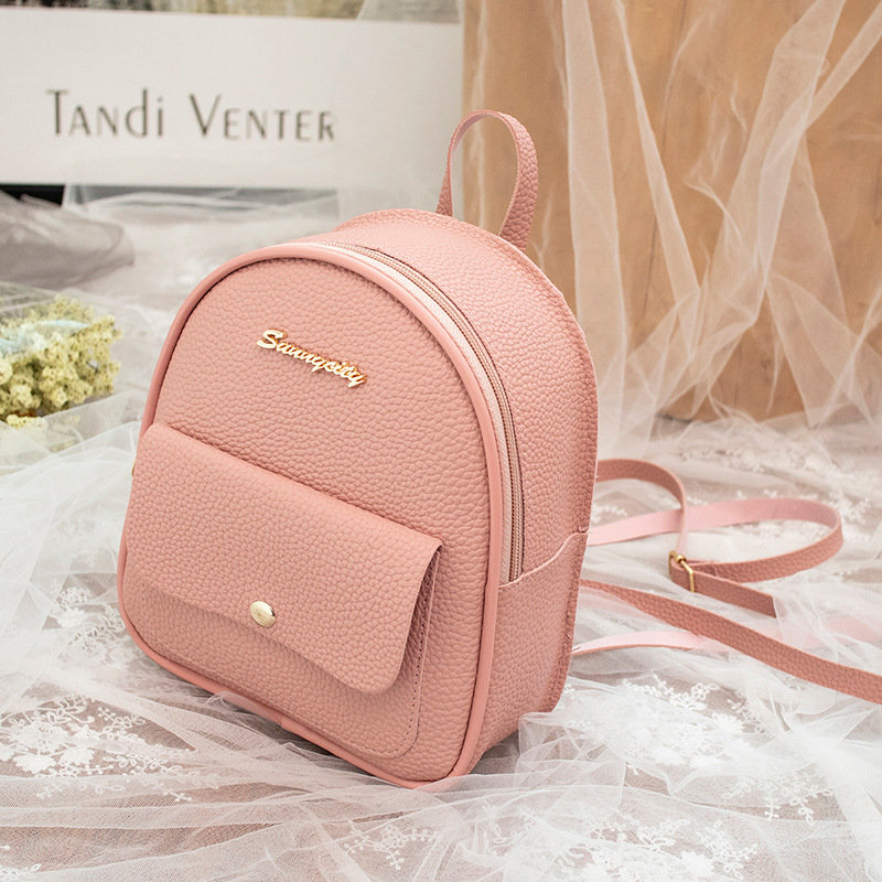 product-Osgoodway-Osgoodway2cute letter logo multifunctional pu leather fashion mini backpack for gi