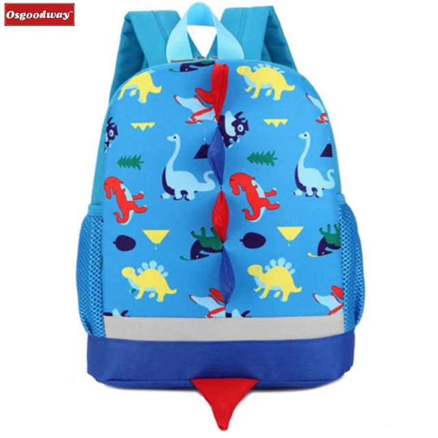 Osgoodway Backpack for Children Cute School Bags Cartoon School Knapsack Baby bag