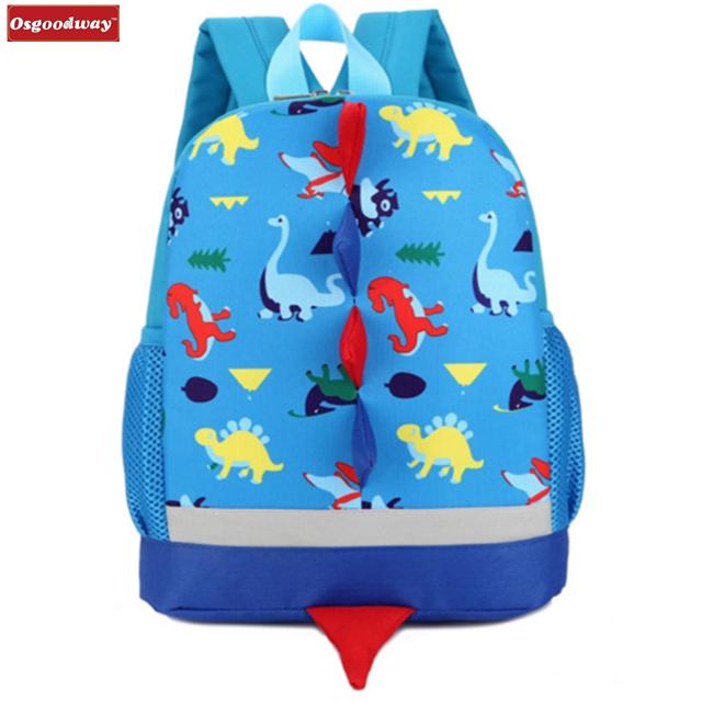 Osgoodway Backpack for Children Cute School Bags Cartoon School Knapsack Baby bag