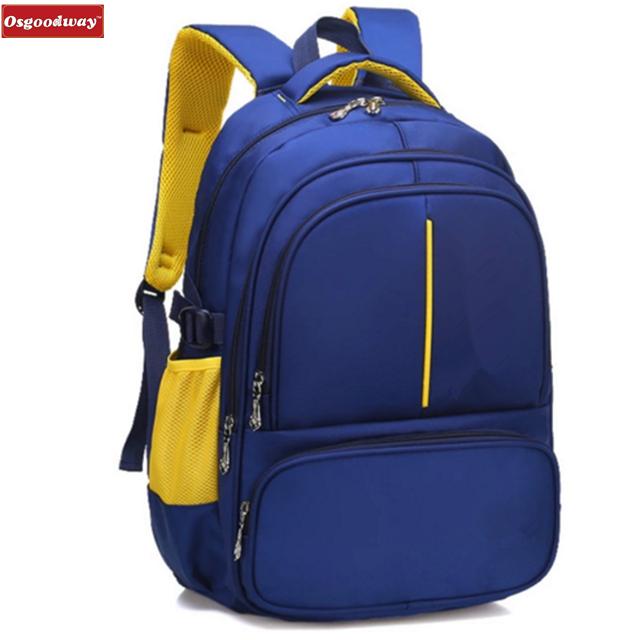 Osgoodway Children School bags Orthopedic Backpack schoolbags kids Travel School Backpacks Boys Girls Casual Rucksack