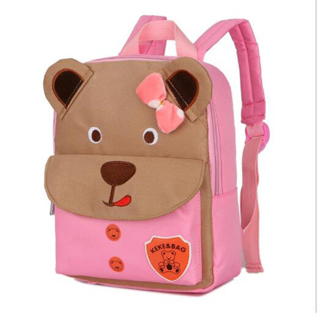 product-Osgoodway-Osgoodway New Cute Backpack For Children Orthopedic Childrens Backpacks Bear Schoo