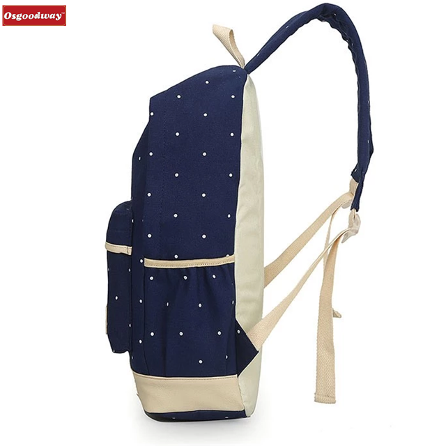product-Osgoodway Hot Sale Composite Bags School Backpack Shoulder Bag Fashion High Quality Canvas S-1