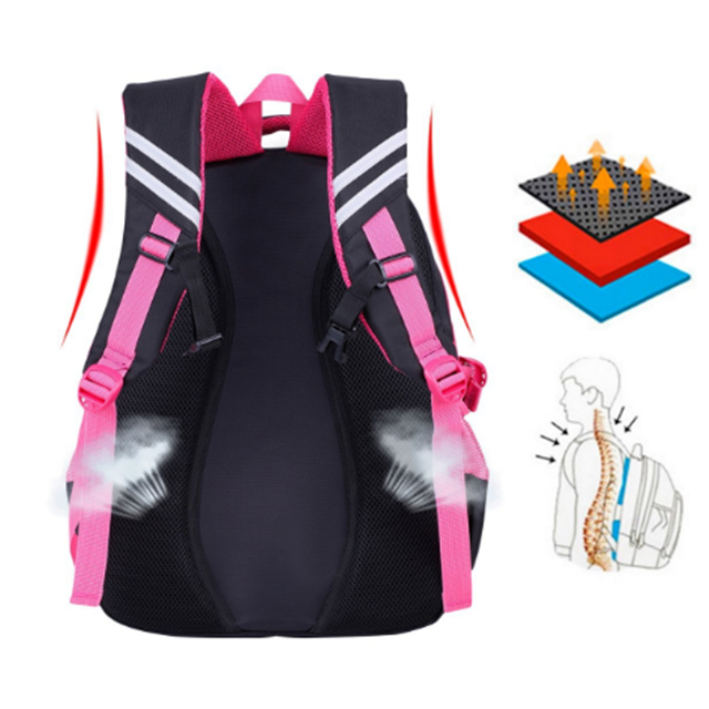 product-Osgoodway-Osgoodway China wholesale fashion desgin beautiful kids school trolley backpack wi