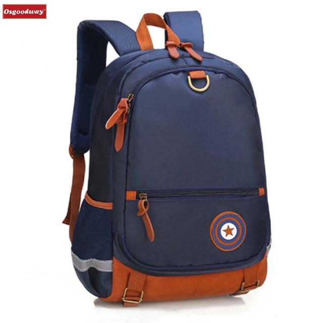Osgoodway12 Children School Bags For Girls Boys Orthopedic Backpack Kids Backpacks schoolbags Primary School backpack Kids