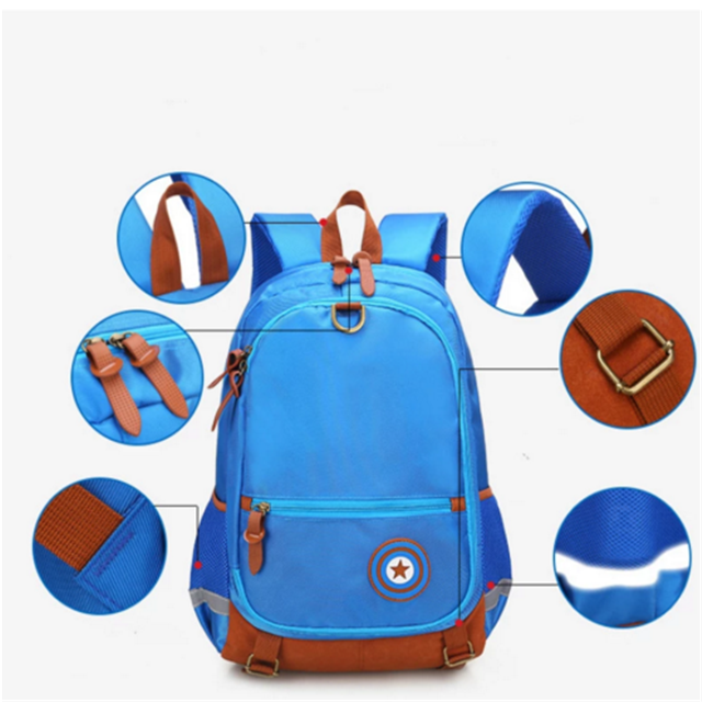 product-Osgoodway-Osgoodway12 Children School Bags For Girls Boys Orthopedic Backpack Kids Backpacks