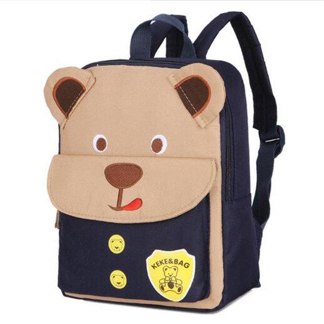 Osgoodway New Cute Backpack For Children Orthopedic Children's Backpacks Bear School Bag Cartoon Kids Bag School Bags