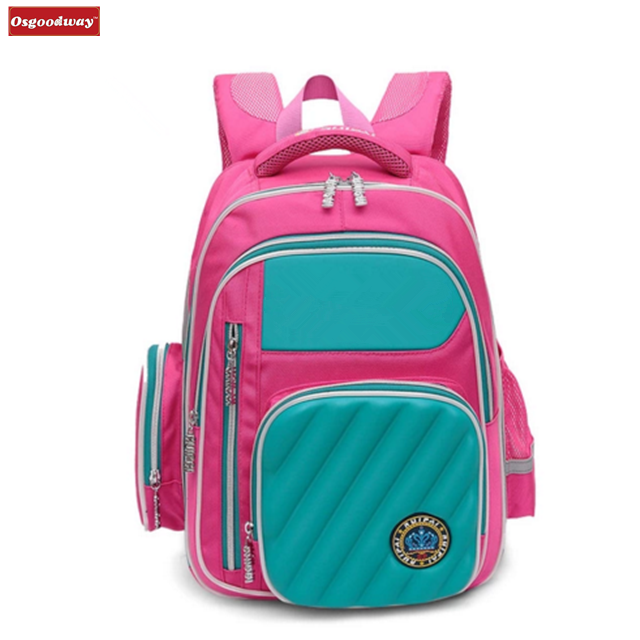 Osgoodway 2020 Casual Style Waterproof Orthopedic Kids Backpack School bags for Boys and Girls